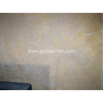 Omiwararren Beige Table Top Gold Onyx Jade Slabs